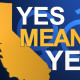Californai Yes means Yes Law